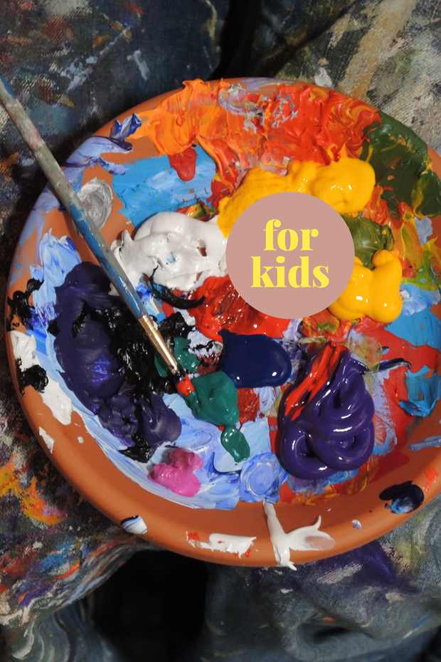 1-Tages-Ferienprogramm für Kinder: «WE DO ART» / 1 Day Holiday Program for Kids: